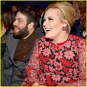 Adele Calls Simon Konecki 'My Husband' at Grammys 2017