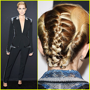 Allison Williams Puts Newly Blonde Hair Into a Cool Braid at 'Get Out' L.A. Premiere!