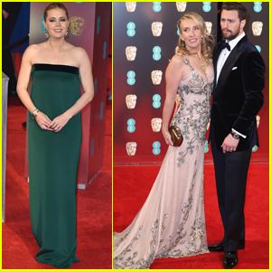 Amy Adams & Aaron Taylor-Johnson Bring 'Nocturnal Animals' to BAFTAs 2017