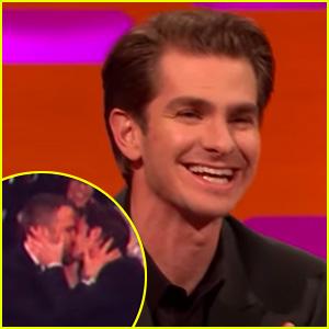 Andrew Garfield Says Ryan Reynolds Kiss Was His Idea! (Video) | Andrew ... Andrew Garfield