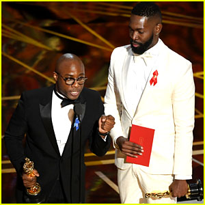 Moonlight's Barry Jenkins Wins at Oscars 2017, Gets Standing Ovation!