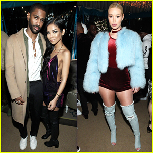 Big Sean Celebrates Going Number One At Grammys 2017 After Party with Jhene Aiko!