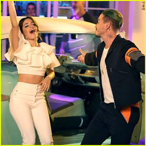 Camila Cabello & J Balvin Make a Music Video in Miami!