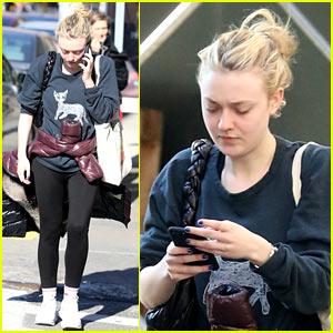 Dakota Fanning Steps Out After Landing TNT Series 'The Alienist'