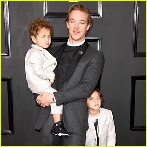 Diplo's Two Sons Might Be Cutest Grammys 2017 Dates!