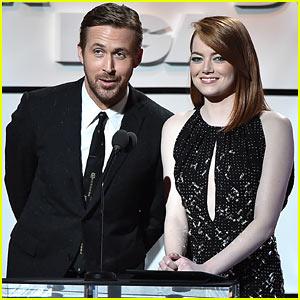 Emma Stone & Ryan Gosling Present Together at the Directors Guild Awards