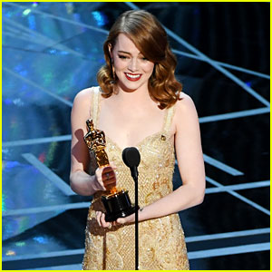 Emma Stone Wins Best Actress at Oscars 2017 - Watch Her Speech! (Video)