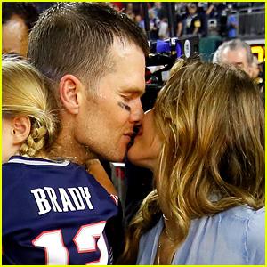 Gisele Bundchen Congratulates Her 'Love' Tom Brady on His Fifth Super Bowl Win!