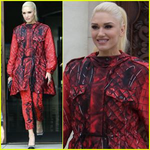 Gwen Stefani Goes Fashion Forward For Family Afternoon