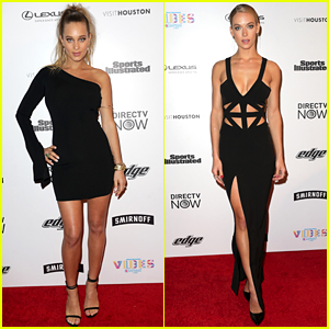 Hannah Jeter Got Stuck In an Elevator at SI Swimsuit Event