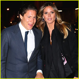Heidi Klum & Boyfriend Vito Schnabel Enjoy Date Night in NYC