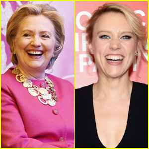 Hillary Clinton Meets Up With 'SNL' Star Kate McKinnon in NYC