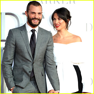 Jamie Dornan & Wife Amelia Warner Look So In Love at 'Fifty Shades Darker' London Premiere!