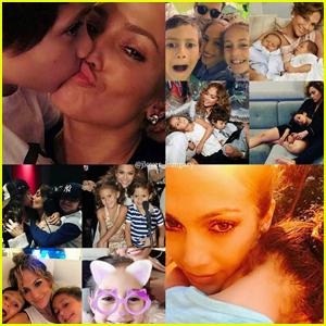 Jennifer Lopez Writes Sweet Birthday Message for Max & Emme
