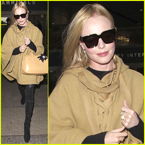 Kate Bosworth Arrives Home After London Fashion Week
