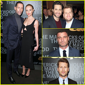 Kate Bosworth & Michael Polish Couple Up At Esquire's Mavericks of Hollywood Bash!