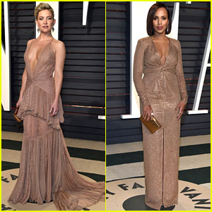 Kate Hudson & Kerry Washington Stun at Vanity Fair Oscar Party 2017!
