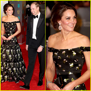 Kate Middleton & Prince William Join the Stars at BAFTAs 2017