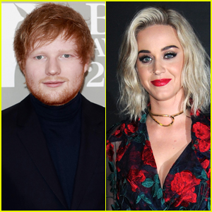 Ed Sheeran Adorably Crashes Katy Perry's Interview (Video)