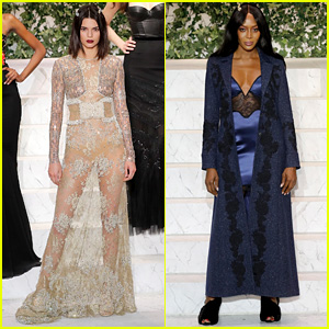 Kendall Jenner Walks in La Perla NYFW Show with Naomi Campbell & More!