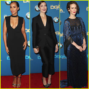 Kerry Washington, Mandy Moore, & Sarah Paulson Go Glam for Directors Guild Awards