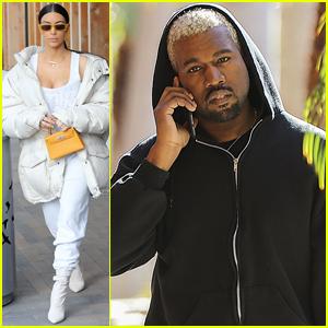 Kim Kardashian & Kanye West Are 'Happy & Healthy' Together
