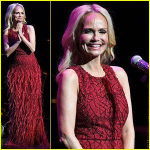 Kristin Chenoweth Hits The Stage For Intimate Valentine's Day Concert!