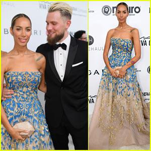 Leona Lewis Brings Boyfriend Dennis Jauch to Elton John Oscars Party