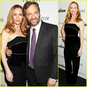 Leslie Mann Doesn't Think Hubby Judd Apatow Is Funny!