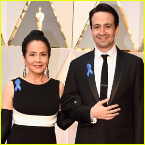 Lin-Manuel Miranda Brings His Mom as His Oscars 2017 Date
