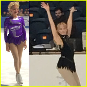 Margot Robbie Hits the Ice in New 'I Tonya' Set Photos