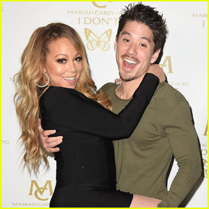 Mariah Carey Gets Flirty With Boyfriend Bryan Tanaka