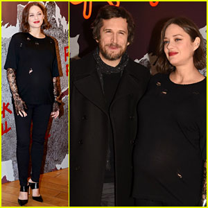 Marion Cotillard & Guillaume Canet Premiere 'Rock'n Roll' in Paris!