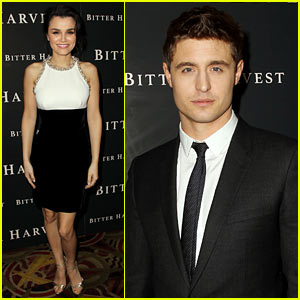 Max Irons & Samantha Barks Premiere 'Bitter Harvest,' Hope to Shed Light on Stalin's Genocidal Project Against Ukrainians