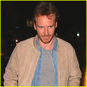 Michael Fassbender Grabs Dinner in West Hollywood
