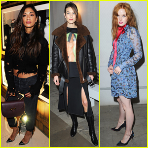 Nicole Scherzinger Hits Up London Fashion Week After Cape Town Vaca!