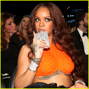 Rihanna Seemingly Says 'I Think It's Time for Another Shot' at Grammys 2017 (Video)