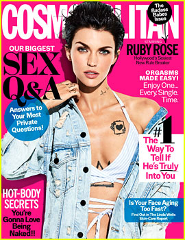 Ruby Rose to 'Cosmopolitan': 'I Have a Very Healthy Sex Life'