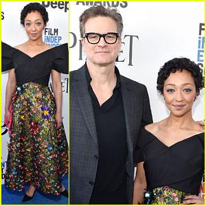 Ruth Negga Gets 'Loving' Producer Colin Firth's Support at Spirit Awards 2017!