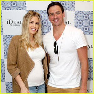 Ryan Lochte & Pregnant Fiancee Kayla Rae Reid Pick Up Cool Swag at Pre-Oscar Style Lounge!