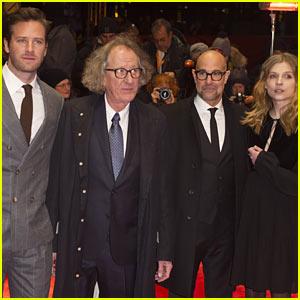 Stanley Tucci Slams Trump While Premiering 'Final Portrait' at Berlin International Film Festival
