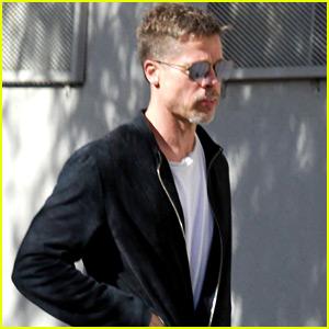 Brad Pitt News, Photos, and Videos | Just Jared  Brad Pitt