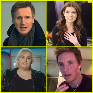 Anna Kendrick, Eddie Redmayne & Liam Neeson Audition to be Stephen Hawking's Voice - Watch Now!