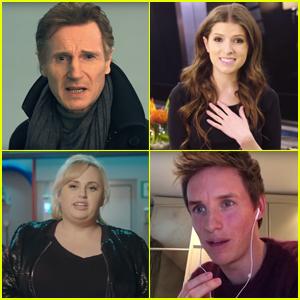 Anna Kendrick, Eddie Redmayne & Liam Neeson Audition to be Stephen Hawking's Voice - Watch Now!
