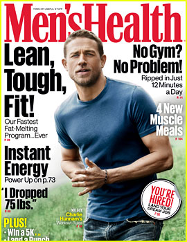 Charlie Hunnam Covers 'Men's Health,' Reveals His 2 Biggest Heroes