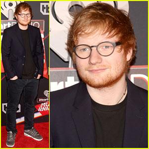Ed Sheeran Hits the iHeartRadio Music Awards 2017 Red Carpet!