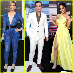 Elizabeth Banks, Dacre Montgomery, & Becky G Arrive in Style for the 'Power Rangers' Premiere!