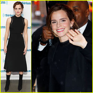 Emma Watson Was a 'Ninja Book-Fairy' on International Women's Day