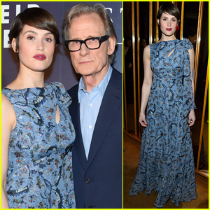 Gemma Arterton & Bill Nighy Attend the Premiere of 'Their Finest' in NYC