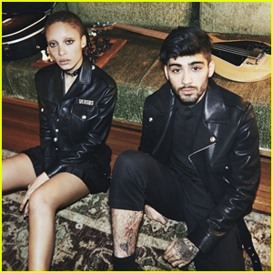 Gigi Hadid Photographs Boyfriend Zayn Malik For 'Versus Versace' Campaign